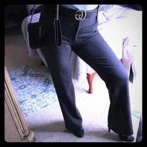 High waist express editor work dress wide leg pant
